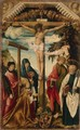 Crucifixion with Saints and Donor - Hans Wertinger