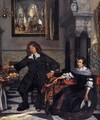 Portrait of a Family in an Interior (detail) - Emanuel de Witte