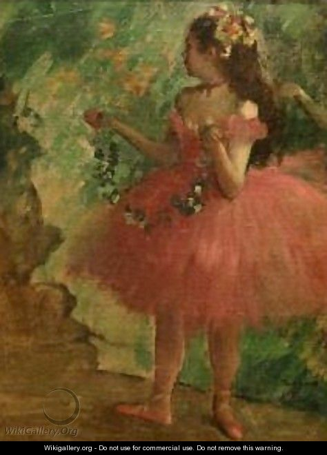 Dancer in Pink - Edgar Degas