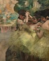 Yellow Dancers - Edgar Degas