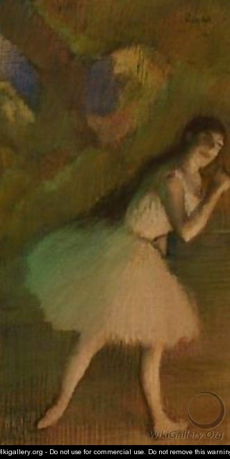 Ballet Dancer on Stage - Edgar Degas