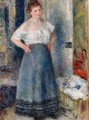The Laundress 2 - Pierre Auguste Renoir