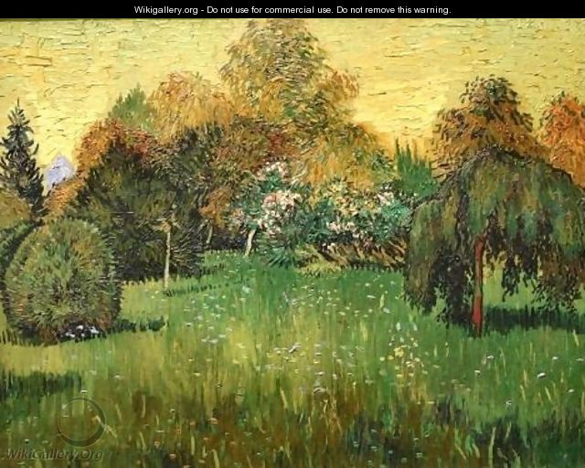 The Poets Garden - Vincent Van Gogh