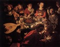 The Marriage at Cana - Jan Cornelisz Vermeyen