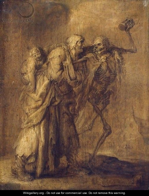 Dance of Death - Adriaen Pietersz. Van De Venne