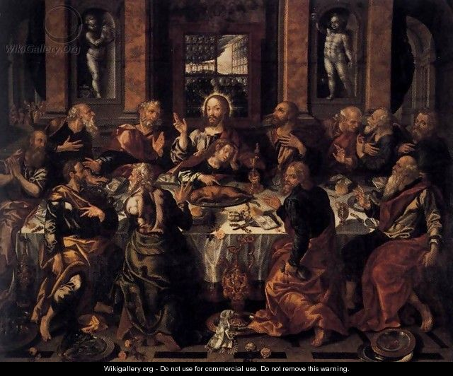 Last Supper - Alonso Vazquez