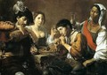 Musician and Drinkers - Jean de Boulogne Valentin