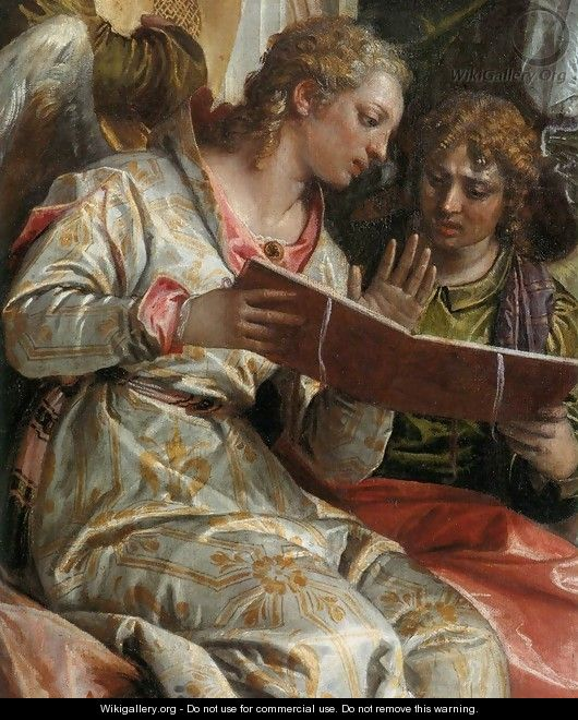 Mystical Marriage of St Catherine (detail) - Paolo Veronese (Caliari)