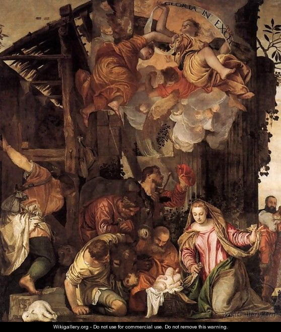 Adoration of the Shepherds 5 - Paolo Veronese (Caliari)