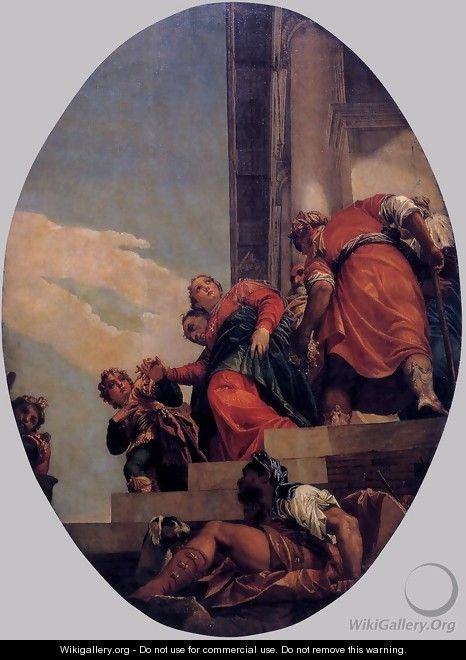 The Banishment of Vashti - Paolo Veronese (Caliari)