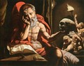 St Jerome Meditating - Jan Cornelisz Vermeyen