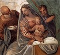 The Holy Family (Madonna della pappa) - Paolo Veronese (Caliari)