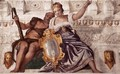 Prudence and Manly Virtue - Paolo Veronese (Caliari)