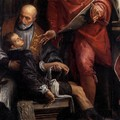 Conversion of St Pantaleon (detail) - Paolo Veronese (Caliari)