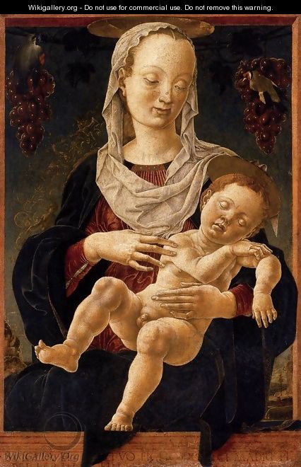 The Madonna of the Zodiac - Cosme Tura