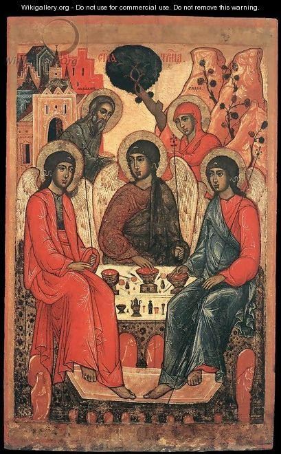 The Holy Trinity - Russian Unknown Master