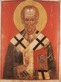 Icon of St Nicholas - Russian Unknown Master
