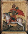 St Menas of Egypt on Horseback - Cretan Unknown Master