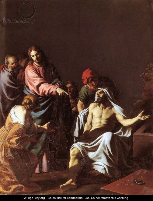 The Raising of Lazarus - Alessandro Turchi (Orbetto)