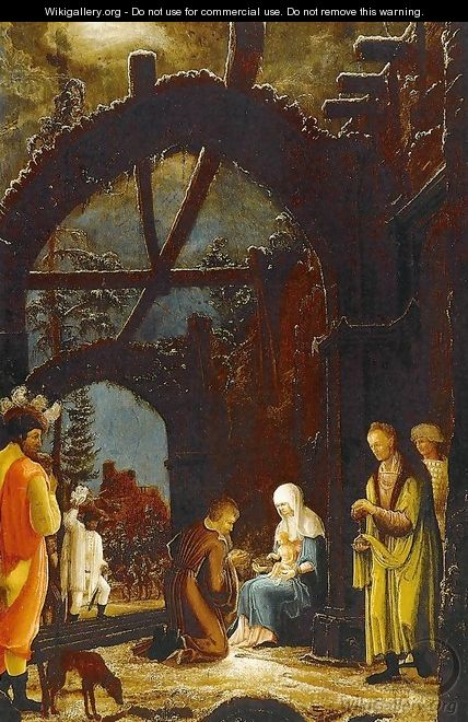 Adoration of the Magi - German Unknown Masters