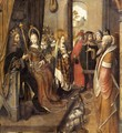 St Ursula Announces to her Father her Departure on a Pilgrimage to Rome - German Unknown Masters
