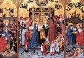 Altarpiece of the Seven Joys of Mary - German Unknown Masters
