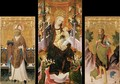 Altarpiece of the Virgin - Spanish Unknown Masters