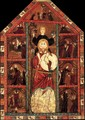 Retable of St Christopher - Spanish Unknown Masters