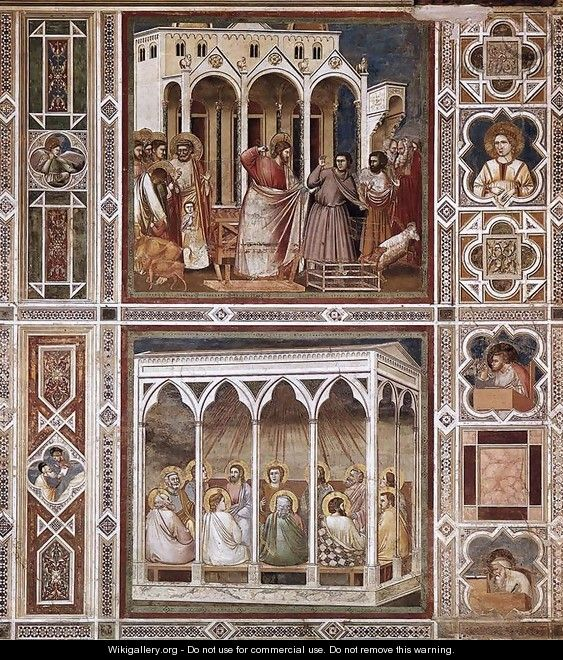 Decorative Bands - Giotto Di Bondone