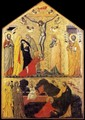 Crucifixion with Saints and Noli Me Tangere 2 - Italian Unknown Master