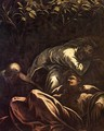 The Prayer in the Garden (detail) 2 - Jacopo Tintoretto (Robusti)