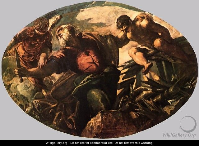 The Sacrifice of Isaac 2 - Jacopo Tintoretto (Robusti)