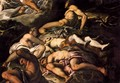 The Brazen Serpent (detail) 2 - Jacopo Tintoretto (Robusti)