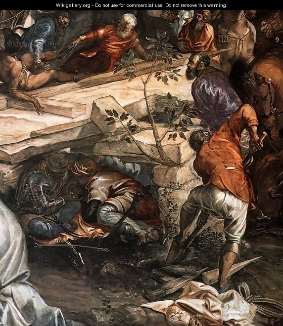 Crucifixion (detail) 4 - Jacopo Tintoretto (Robusti)