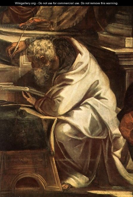 Christ before Pilate (detail) - Jacopo Tintoretto (Robusti)