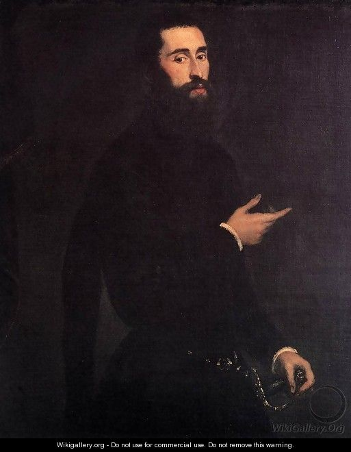 Portrait of a Genoese Nobleman 2 - Jacopo Tintoretto (Robusti)
