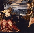 The Annunciation to Manoah's Wife 2 - Jacopo Tintoretto (Robusti)