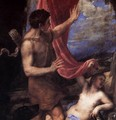 Diana and Actaeon (detail) 2 - Tiziano Vecellio (Titian)