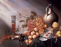 Still-Life of Fruit and Dead Fowl - Harmen Steenwijck