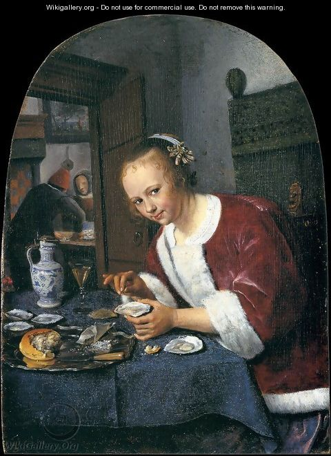 The Oyster-eater - Jan Steen