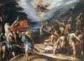 Conversion of St Paul on the Road to Damascus - Hans Speckaert