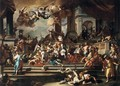 Expulsion of Heliodorus from the Temple - Francesco Solimena