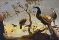 Group of Birds Perched on Branches - Frans Snyders