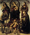 Madonna and Child with Saints - Luca Signorelli