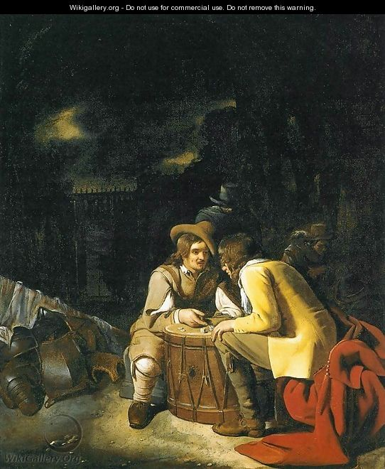 Soldiers Playing Dice - Michael Sweerts