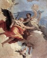 Allegory of Strength and Wisdom - Giovanni Battista Tiepolo