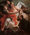 Abraham Praying before the Three Angels - Giovanni Battista Tiepolo