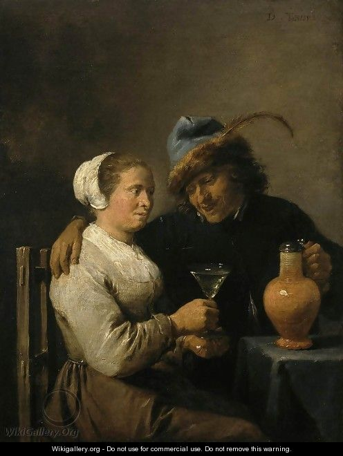 Tavern Scene - David The Younger Teniers