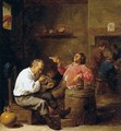 Smokers in an Interior - David The Younger Teniers