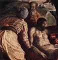 Christ Carried to the Tomb (detail) 2 - Jacopo Tintoretto (Robusti)
